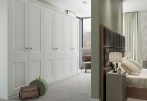 Hanover White Fitted Bedroom
