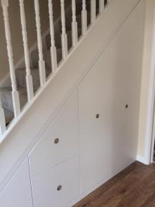 Tasha Tooley under stairs cupboard